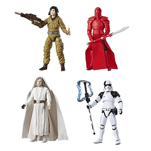Star Wars The Black Series 3 3/4-Inch Action Figures Wave 6 Set