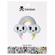 Tokidoki Pastel Pop Rainbow Iron-On Patch