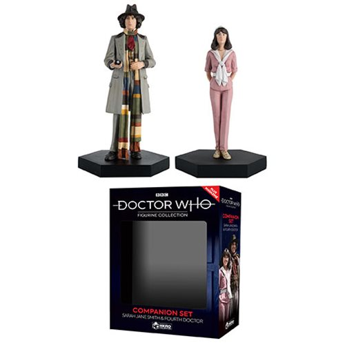 Doctor Who Collection Companion Set #3 Fourth Doctor and Sarah Figures