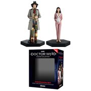 Doctor Who Collection Companion Set #3 Fourth Doctor and Sarah Statues, Not Mint
