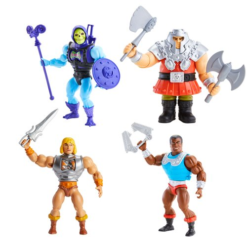 Masters of the Universe Origins Deluxe Action Figure Wave 2 Case