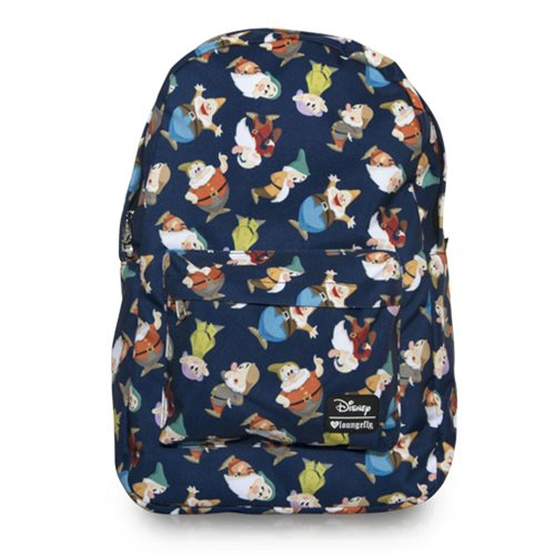 Snow White and the Seven Dwarfs Print Backpack