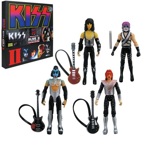 KISS Alive II 3 3/4-Inch Deluxe Box Set - Con. Exclusive