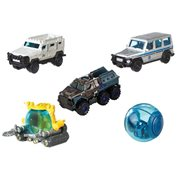 Jurassic World: Fallen Kindom Matchbox Die-Cast Vehicle 5-Pack Case