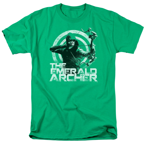 Arrow TV Series The Emerald Archer T-Shirt