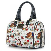 Beauty and the Beast Belle Tattoo Print Purse