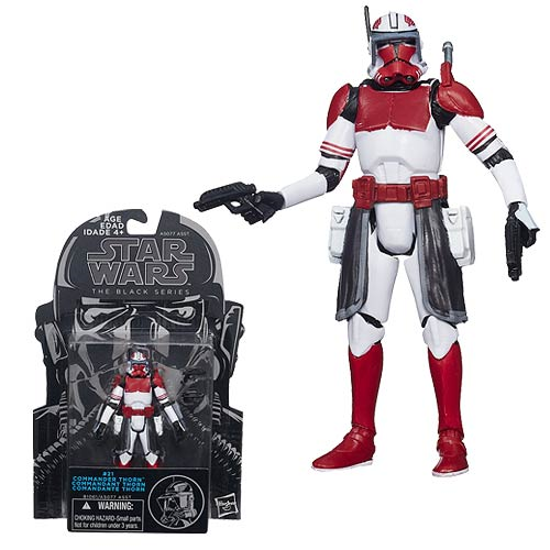 Star Wars The Black Series Clone Commander Thorn 3 3/4-Inch Action Figure