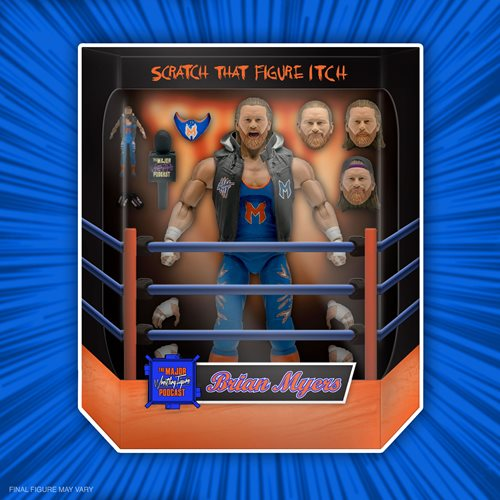 Major Wrestling Podcast Ultimates Brian Myers 7-Inch Action Figure
