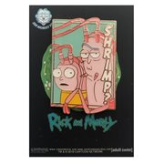 Rick and Morty Pastel Shrimp Rick and Morty Enamel Pin