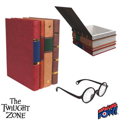 The Twilight Zone Henry Bemis Book Box and Replica Glasses - Convention Exclusive
