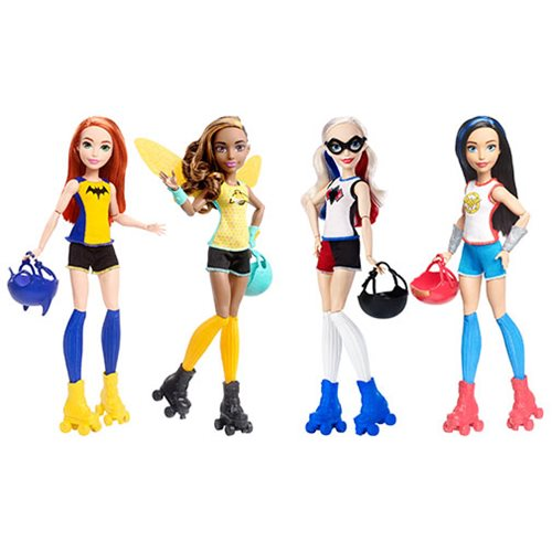 DC Super Hero Girls Bumblebee Roller Derby Doll