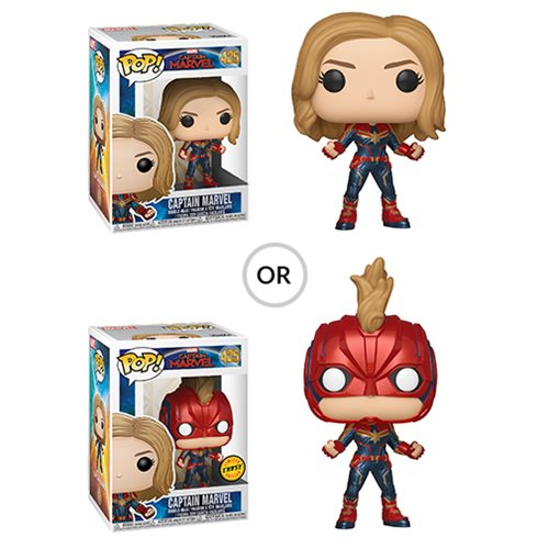 Captain Marvel Pop! Vinyl Figure #425