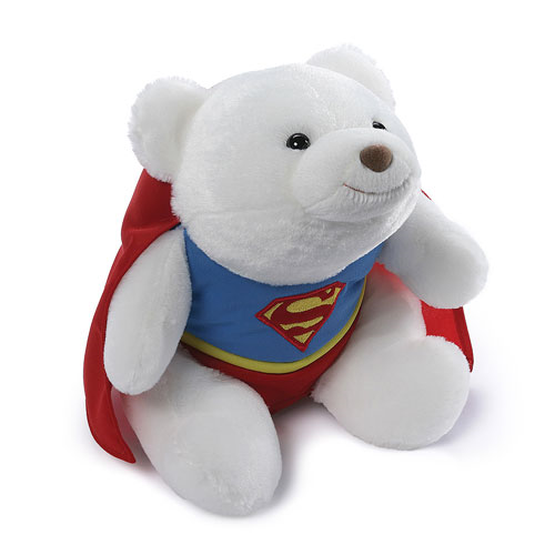 DC Comics Superman Snuffles 12-Inch Bear Plush