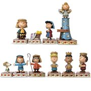 Peanuts Christmas Pageant by Jim Shore 10 Statue Set