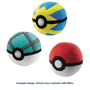 Pokemon Plush Poke Ball Case