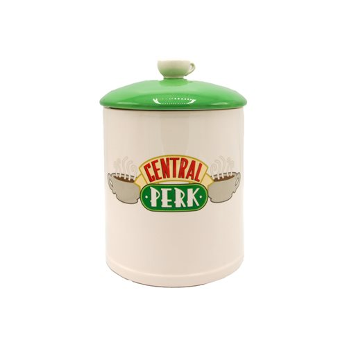 Friends Central Perk Logo Ceramic Cookie Jar