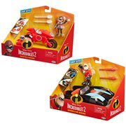 Incredibles 2 Vehicle with 3-Inch Figure Case
