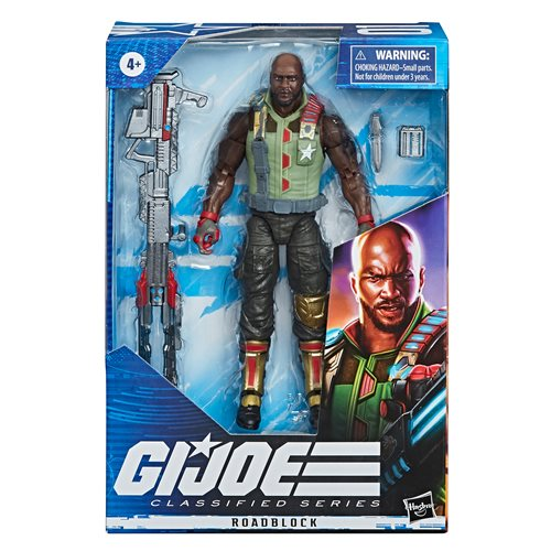G.I. Joe Classified Series 6-Inch Roadblock Action Figure