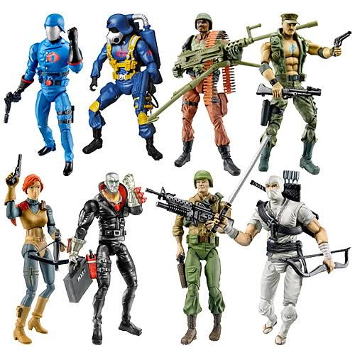 G.I. Joe 25th Anniversary Action Figures Wave 4