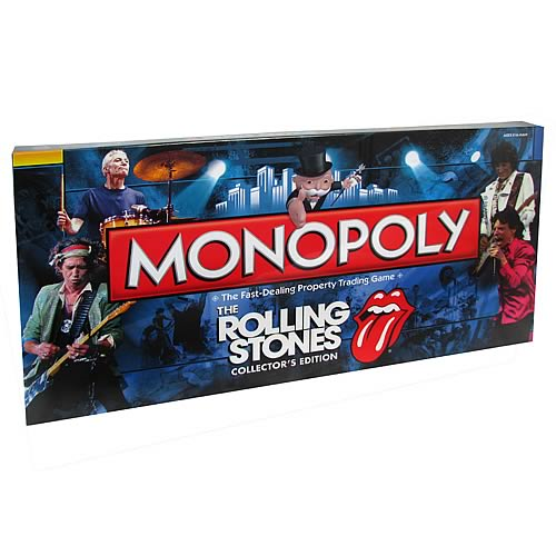 The Rolling Stones Collector's Edition Monopoly