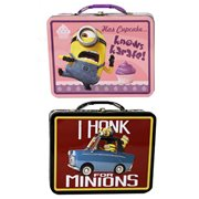 Despicable Me Large Carry All Tin Lunch Box Set