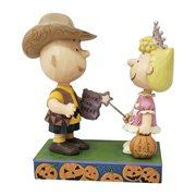 Peanuts Charlie Brown Halloween Trick-or-Treat Statue by Jim Shore
