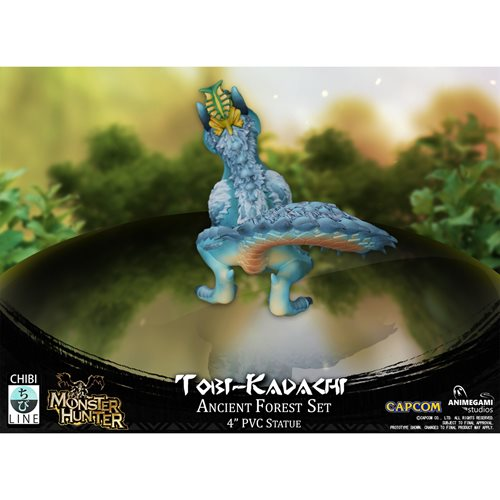 Monster Hunter Limited Edition Tobi-Kadachi 4-Inch Vinyl Statue