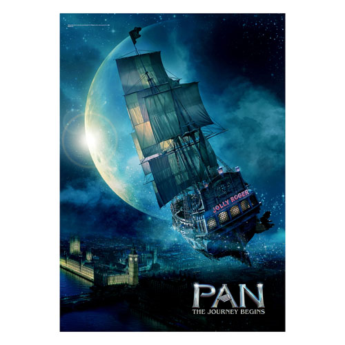 Pan: The Journey Begins The Jolly Roger MightyPrint Wall Art