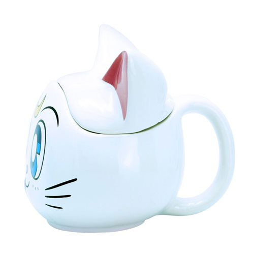 Sailor Moon Luna and Artemis 3D Mugs Gift Set