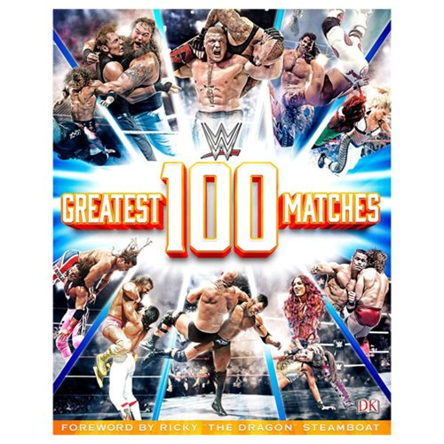 WWE: 100 Greatest Matches Hardcover Book