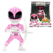 Power Rangers 4-Inch Pink Ranger Metals Die-Cast Action Figure