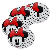 Disney Minnie Mouse 8-Inch Ceramic Salad Plate 4-Pack