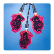 Sons of Anarchy Grim Reaper Red Christmas Lights