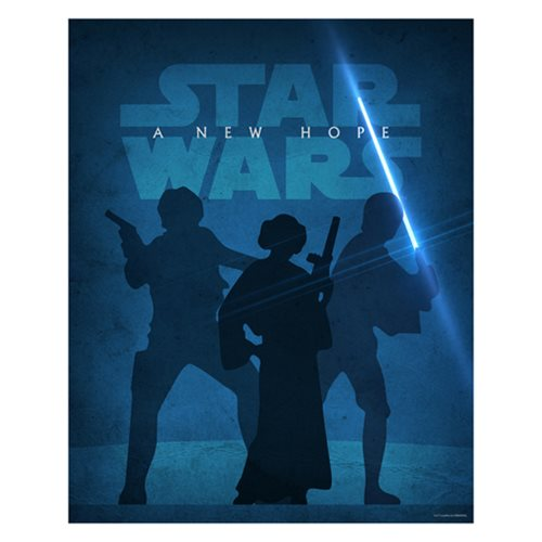 Star Wars: Episode IV - A New Hope by Jason Christman Lithograph Art Print