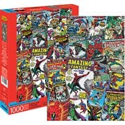 Spider-Man Comic Collage 1000-Piece Puzzle