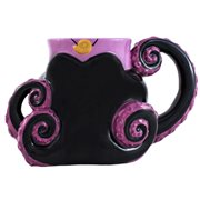 The Little Mermaid Ursula 3D Sculpted Ceramic Mug