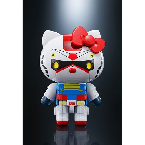 Hello Kitty Gundam Chogokin Action Figure