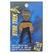 Star Trek Geordi La Forge Pin