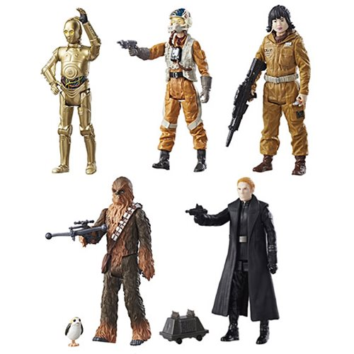 Star Wars: The Last Jedi Teal 3 3/4-Inch Action Figures Wave 1 Case