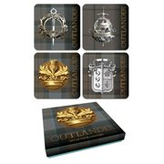 Outlander Tartan Coaster Set