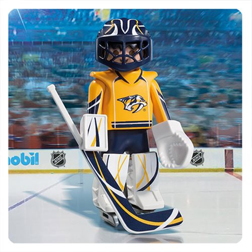 Playmobil 9195 NHL Nashville Predators Goalie Action Figure