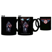 Captain America: Civil War Team Cap Freedom 11 oz. Heat Change Mug