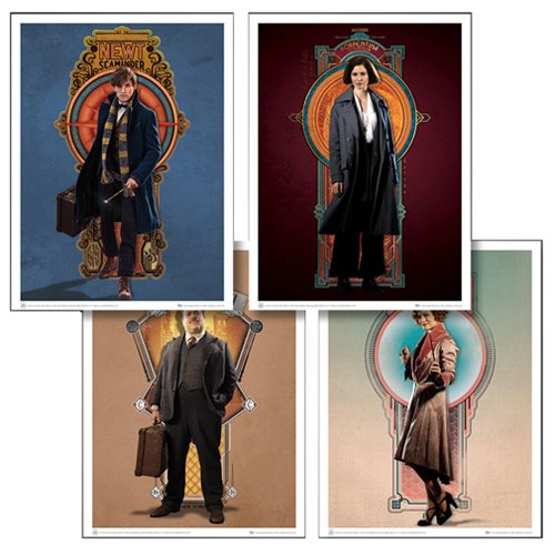 Fantastic Beasts and Where to Find Them Art Print Set 3