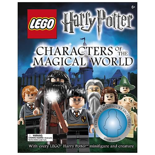 LEGO Harry Potter Character Encyclopedia Hardcover Book
