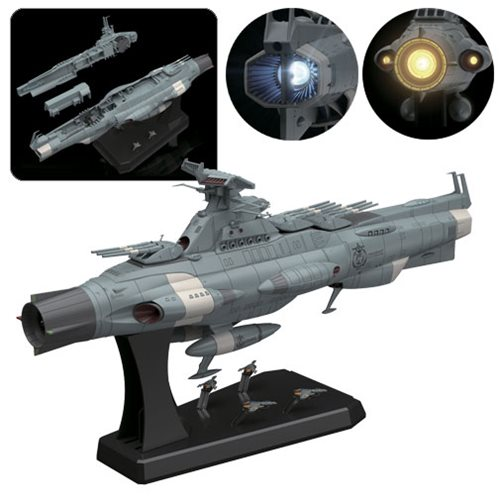 Space Battleship Yamato Dreadnought 1:1000 Scale Model Kit