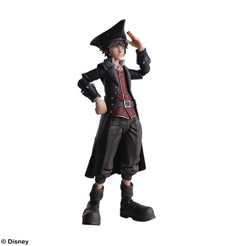 Kingdom Hearts III Sora Pirates of the Caribbean Version Bring Arts Action Figure