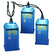 Doctor Who TARDIS Christmas Lights