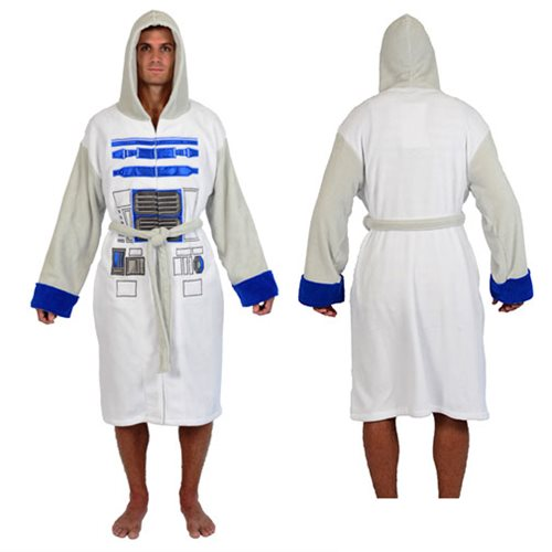 Star Wars R2-D2 Fleece Bathrobe