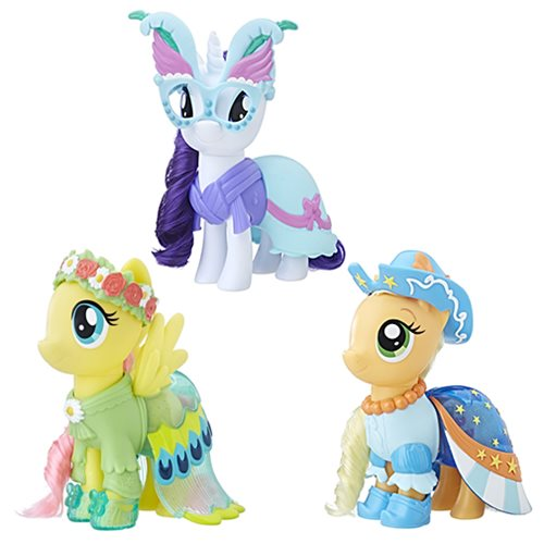 My Little Pony Snap-On Fashion Mini-Figures Wave 1 Case