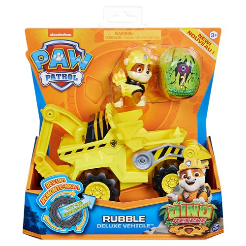 PAW Patrol Dino Rescue Deluxe Rev Up Vehicle and Figure Case